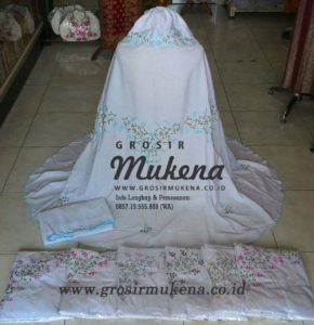jual model mukena satin silk